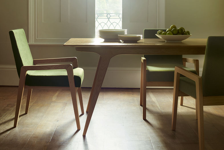 Stride Chair and Dining Table