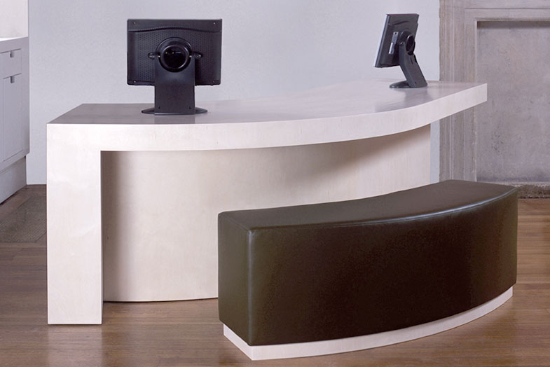 Cowley Manor Hotel Reception Desk